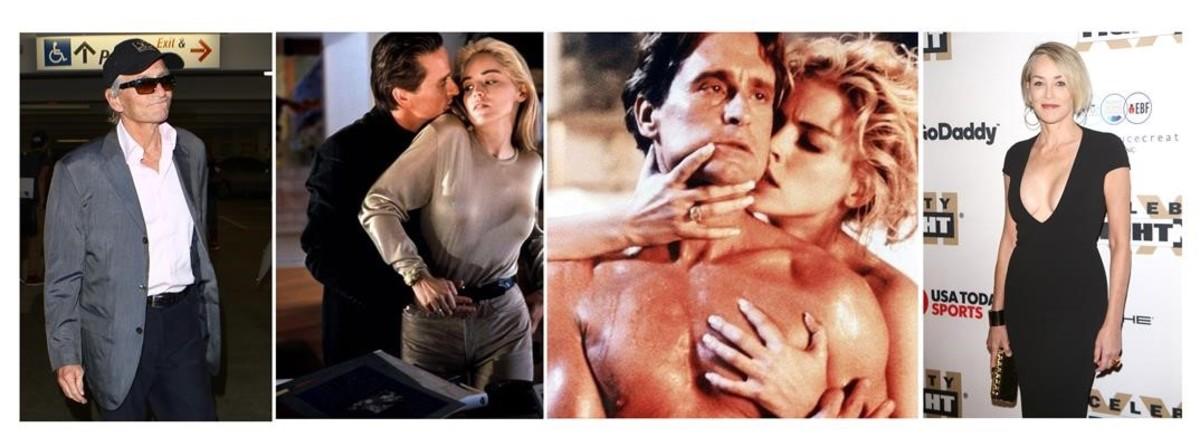 Michael Douglas y Sharon Stone, 25 años de 'Instinto básico'