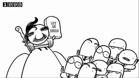 Un cómic mordaz sobre la crisis arrasa en internet
