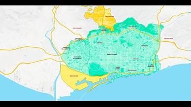 Barcelona restringirà el trànsit en episodis de contaminació