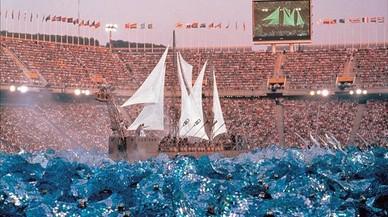 El vaixell perdut de la cerimònia inaugural