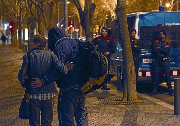 3 detinguts el 29-M van a la presó i 5 surten en llibertat amb fiança