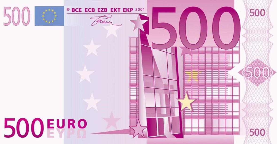 Los billetes de 500?, desde hoy, retirados de la circulacion