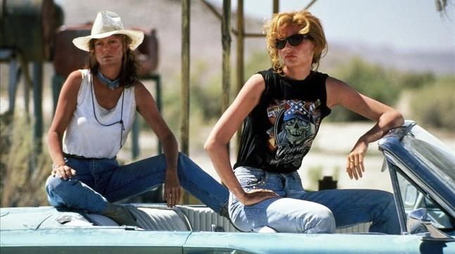 Susan Sarandon y Geena Davis, activistas de película