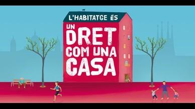 El Ayuntamiento de Barcelona impulsa diferentes medidas para asegurar que cualquier persona tenga acceso a una vivienda digna.