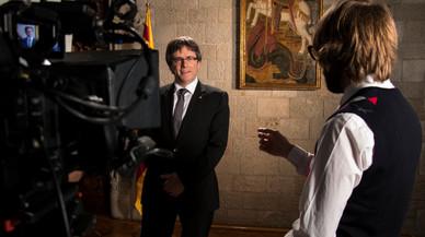 'El gran dictat' tanca amb Puigdemont