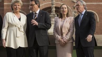 """L'exvicepresidenta de la Comissió Europea denuncia """"falta de diàleg"""" per resoldre la qüestió catalana"""