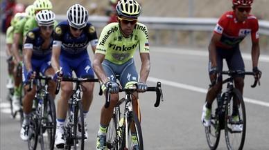 Nairo i Contador tomben Froome a Formigal