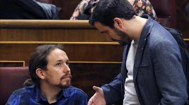 Les bases d'IU recolzen majorit�riament l'alian�a electoral amb Podem