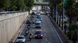 La pluja i dos accidents compliquen la circulació a l'àrea metropolitana de Barcelona