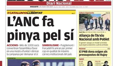 """""""Moix ordena investigar els fiscals del 3% per coaccions"""", titula 'El Mundo'"""