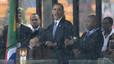 """Obama: """"Hi ha líders que recolzen Mandela però no toleren els seus opositors"""""""