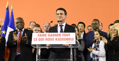 Valls dimite como primer ministro para optar a la presidencia de Francia