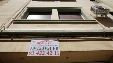 Els lloguers de vivenda a Barcelona ja són un 19,8% més alts que el 2007