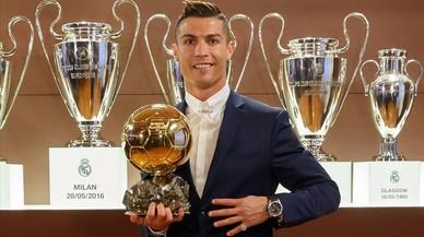 Cristiano Ronaldo guanya la Pilota d'Or 2016
