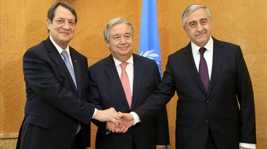 Fracassen les negociacions sobre la reunificació de Xipre
