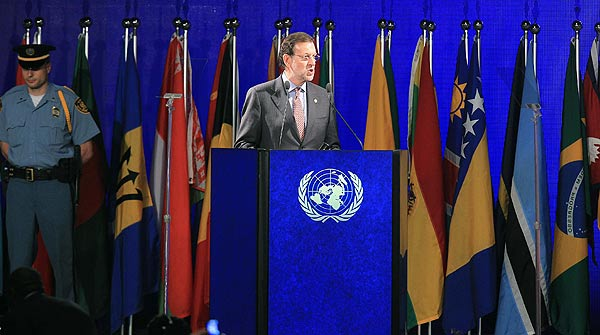 Presentacin de Rajoy en la ONU