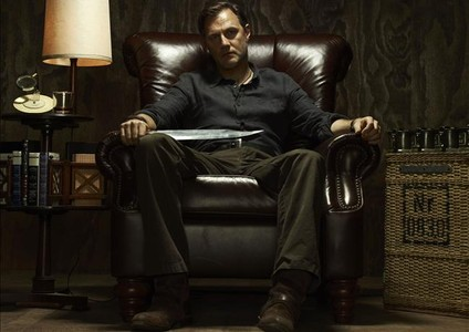 El actor David Morrissey, en la serie 'The walking dead'.
