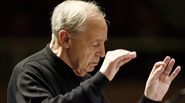 El director de orquesta francés Pierre Boulez, en una imagen del 2008.