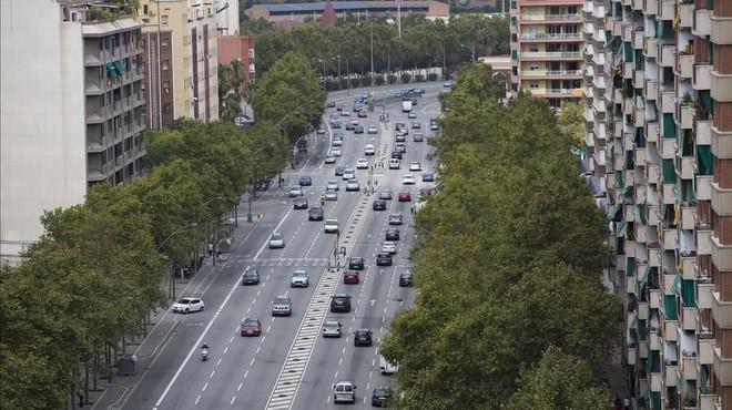 Comencen les obres per millorar la seguretat de les cruïlles de vianants de la Meridiana