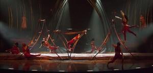Ensayos del Cirque du Soleil en Fuerteventura.