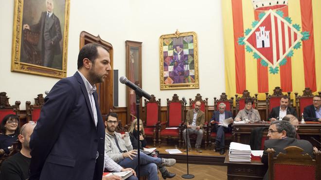 Alejandro Rodríguez toma posición del acta de concejal del Partido Popular en Terrassa