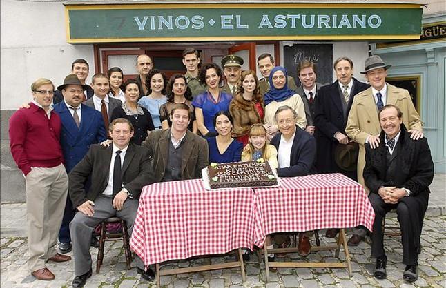 'Amar en tiempos revueltos', en Antena 3 TV