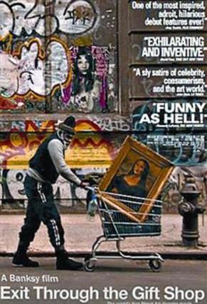 'Exit through the gift shop', el arte urbano y de guerrilla