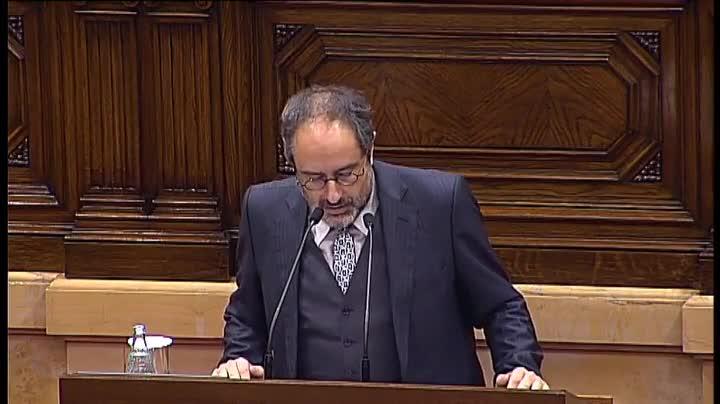 """Baños: """"El nostre vot a la candidatura de Mas és un no tranquil""""."""