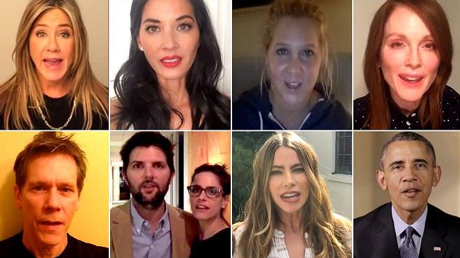 Obama, Aniston, Vergara, Moore i J. Fox, contra les armes