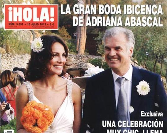 Las nuevas bodas de Adriana Abascal y Marina Casta�o
