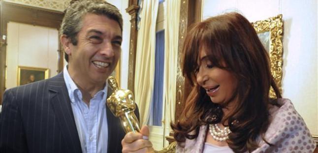 El mundo de la cultura se suma a la pol�mica entre el actor Ricardo Dar�n y la presidenta argentina