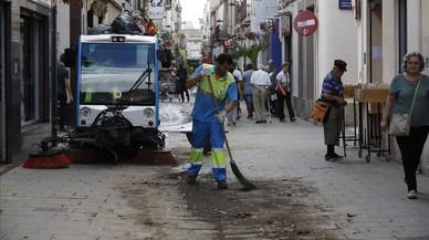Un front de pluges escombra Catalunya de matinada