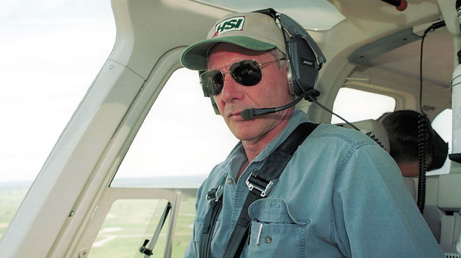 Harrison Ford, a punt de provocar un accident amb un avió de passatgers