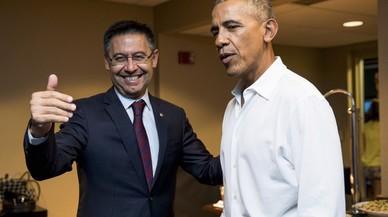 Encuentro Bartomeu-Obama