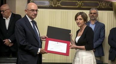 """Forcadell demana """"honradesa i independència"""" al nou director de l'Oficina Antifrau"""