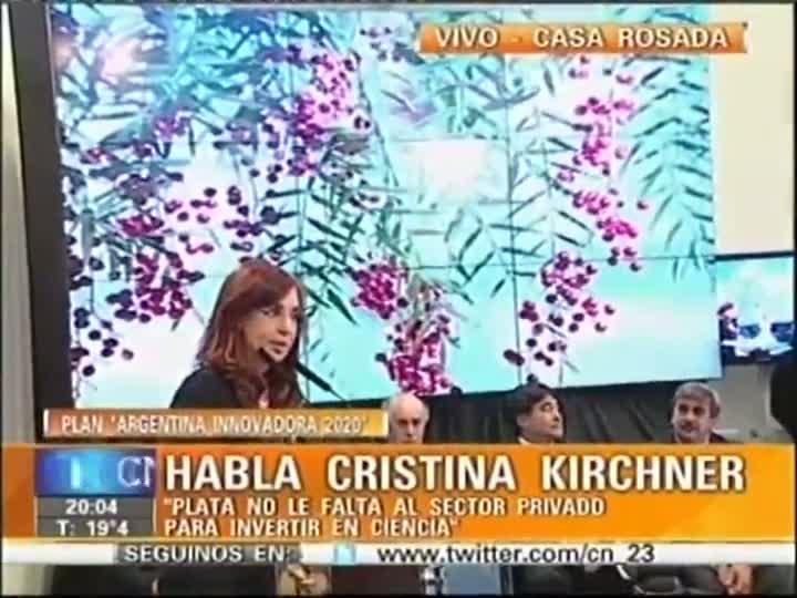 """Kirchner: """"La diabetes es una enfermedad de ricos""""."""