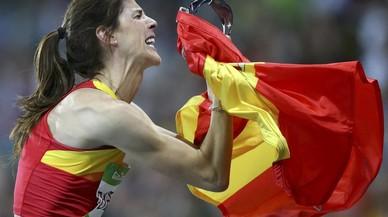 Beitia, campiona olímpica d'altura