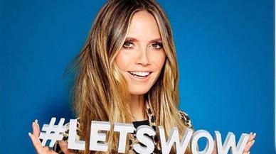 Heidi Klum presentarà la seva col·lecció de roba per a Lidl a Nova York