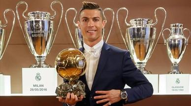 La quarta Pilota d'Or de Cristiano Ronaldo
