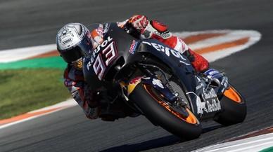 Márquez estrena la Honda-2018 tras ser tetracampeón