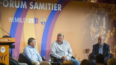 """Debat Del Bosque-Clemente-Toshack: """"El llegat de Cruyff és la seva personalitat"""""""