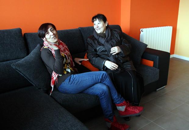 Las familias de los pisos afectados de Ca n'Anglada en Terrassa empiezan a instalarse en Torre-Sana