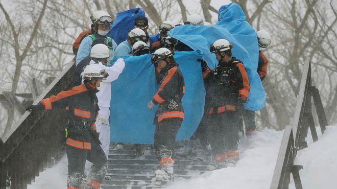 Al menos 6 adolescentes fallecidos tras una avalancha de nieve en el centro de Japón