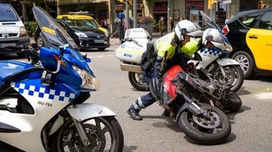 Caçat a 137 km/h un motorista per la Via Augusta de Barcelona