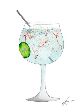 Neuro Gin; neuronas borrachas