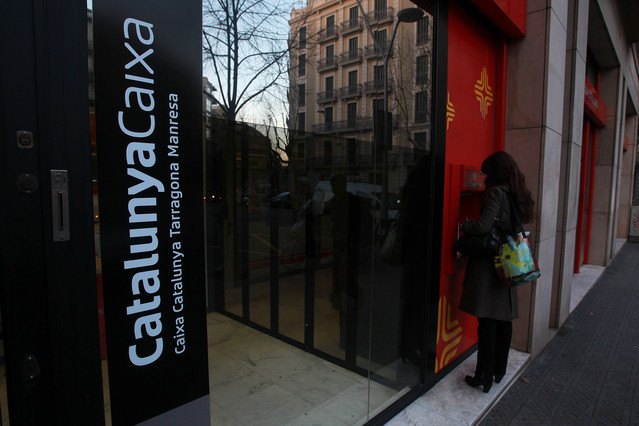 Catalunyacaixa tancar l 39 any amb p rdues superiors als 1 for Oficina de treball barcelona
