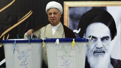 Mor l'expresident de l'Iran Rafsanjani