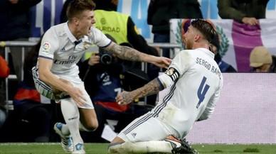 Ramos rescata el Madrid amb un altre gol a l'últim moment (3-2)