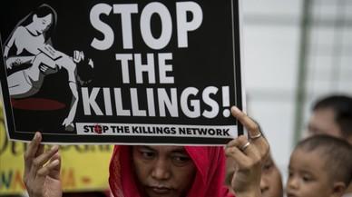 La mort d'un estudiant multiplica les protestes contra la campanya antidroga de Duterte