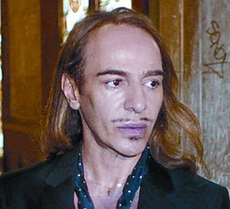 Dise�ador brit�nico John Galliano